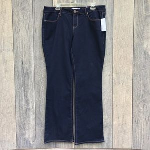 NWT Dark Denim Jeans Sz 17 Juniors